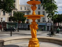 Fountain in Charonne