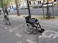 Handicap Parking in Paris